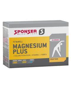 Sponser Magnesium plus Drink Fruit Mix - 20 x 6.5g