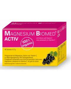 Magnesium Biomed ACTIV - 40 Sachets