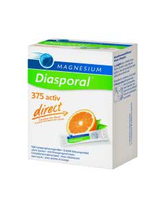 Magnesium Diasporal direct - 375 activ - Orange - 20 Sticks