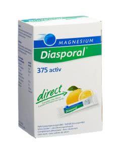 Magnesium Diasporal direct - 375 activ - Zitrone - 60 Sticks