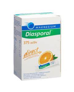 Magnesium Diasporal direct - 375 activ - Orange - 60 Sticks