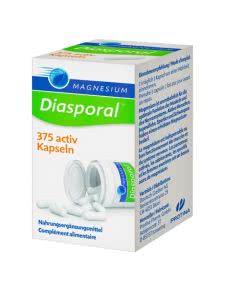 Magnesium Diasporal 375 activ - 50 Kaps.