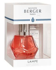 Maison Berger Lampe 4669 - Coffret Geometry Grenadine - Aktions-Set