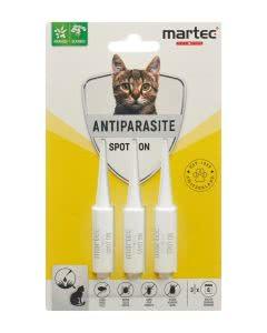 Martec Pet Care Spot on Antiparasite für Katzen