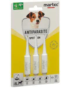 Martec Pet Care Spot on Antiparasite Hunde