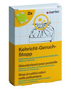Martec Kehricht Geruch-Stopp - 2 Stk.