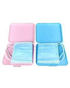 Schutzhülle für Gesichtsschutzmasken - Maskencase antibakteriell in diversen Farben - 1 Stk.