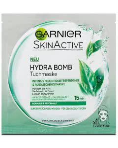 Garnier SkinActive Hydra Bomb Tuchmaske - mattiert und verfeinert die Haut - grün- 1 Stk.