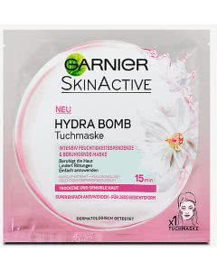 Garnier SkinActive Hydra Bomb Tuchmaske - trockende sensible Haut - rot - 1 Stk.