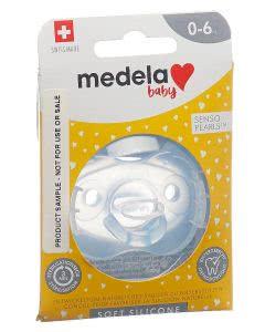 Medela Baby Schnuller Soft Silicone 0-6 Monate Boy