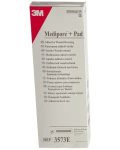 3M  Medipore Pad 10cm x 35cm - 25 Stk. à 5 x 30cm