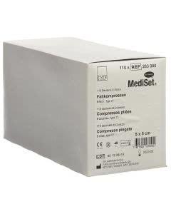 Mediset IVF Faltkompressen - 5cm x 5cm - 110 x 2 Stk.