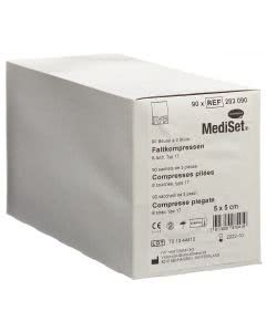 Mediset IVF Faltkompressen - 5cm x 5cm - 90 x 3 Stk.