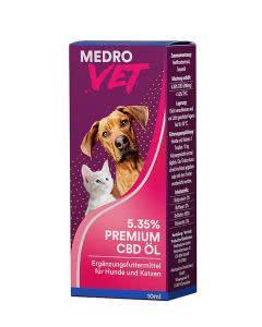 MedroVet Hunde und Katzen CBD-Oel 5.35% - 10ml