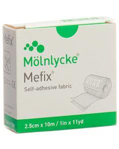 Mefix Fixationsvlies Rolle - 2.5cm x 10m