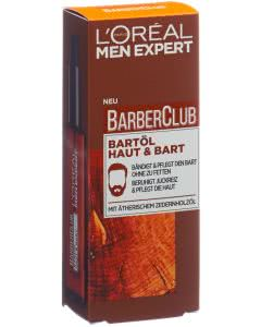 L'Oréal Men Expert Barber club Bartöl Haut und Bart - 30ml