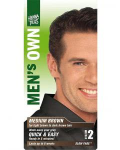 Kreson Henna Plus MENS`S OWN Mittel-Braun - 40ml