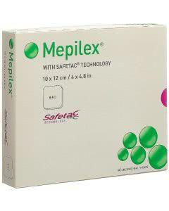 Mepilex Schaumverband mit Safetac - 5 Stk. à 10 x 12cm