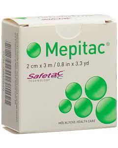 Mepitac Safetac Fixierverband - 2cm x 3m