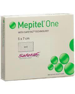 Mepitel One Wundverband - 5 Stk. à 5 x 7cm