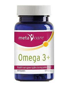 MetaCare Omega 3+ Kapseln - 60 Stk.