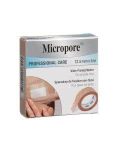 3M  Micropore Vlies Heftpflaster refill hautfarbig - 12.5mm x 5m