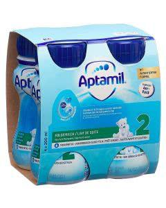 Milupa Aptamil Pre flüssig Folgemilch - 4 x 200ml
