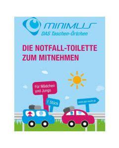 Minimus Pipi-Box Urinal - Das WC für unterwegs