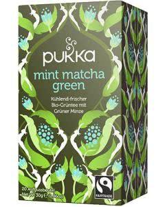 PUKKA Mint Matcha Green Tee - 20 Btl.