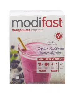 Modifast Programm Drink Berry Joghurt-Heidelbeere - 8 x 55g