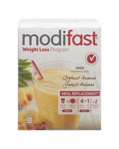 Modifast Programm Drink Exotic Joghurt Ananas - 8 x 55g