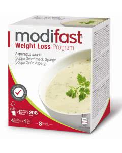 Modifast Programm Suppe Spargel - 8 x 55g