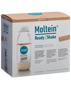 Moltein Ready2Shake Cappuccino - 6 x 24g