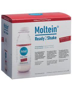 Moltein Ready2Shake Erdbeere - 6 x 24g