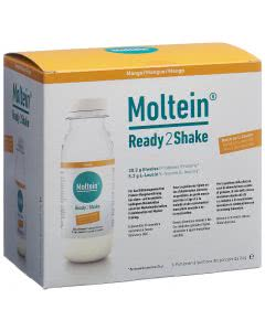 Moltein Ready2Shake Mango - 6 x 24g