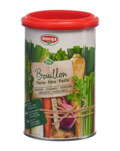 Morga Gemüse Bouillon Paste go clean Bio - 400g