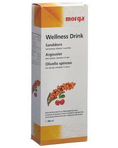 MOrga Sanddorn Wellness Drink Flasche 380ml