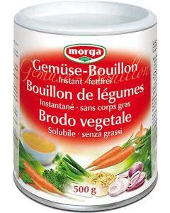 Morga Gemüse Bouillon fettfrei instant - 500 g