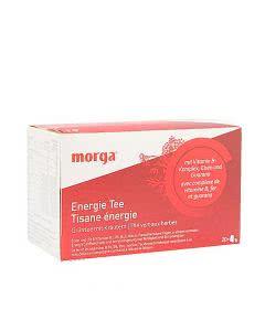 Morga Energie Tee mit Hülle - 20 Stk.
