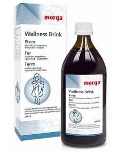 Morga Wellness Drink Eisen - 380ml