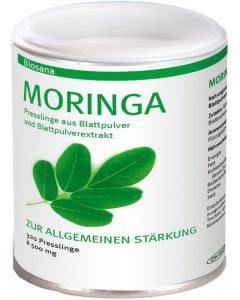 Biosana Moringa Presslinge Tabletten - 320 Stk.