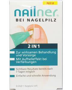 Nailner Repair bei Nagelpilz 2 in 1 - praktischer Stift - 4ml