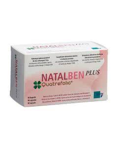 Natalben PLUS (Gynefam) Quatrefolic - 90 Kaps