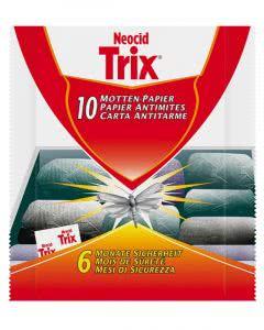 Neocid Trix Motten-Papier - 10 Stk.