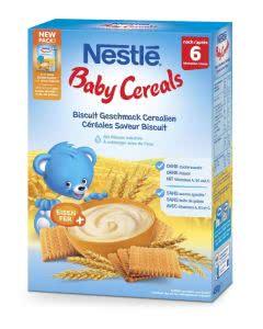 Nestlé Baby Cereals Biscuit Geschmack - 450 g