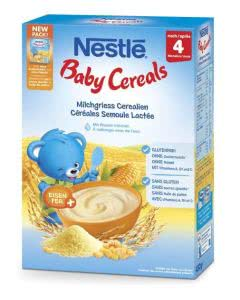 Nestlé Baby Cereals Milchgriess - 450 g