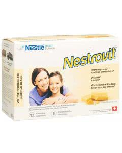 Nestrovit Vitamine und Mineralien - weisse Schokolade - 500g (ca. 95 Stk.)