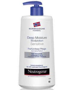Neutrogena Deep Moisture Bodylotion sensitiv ohne Parfum - 400ml