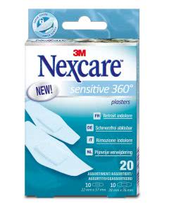 3M Nexcare Sensitive Skin ass - 20 Stk.