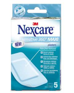 3M Nexcare Sensitive Skin Maxi - 5 Stk. à 50mm x 100mm